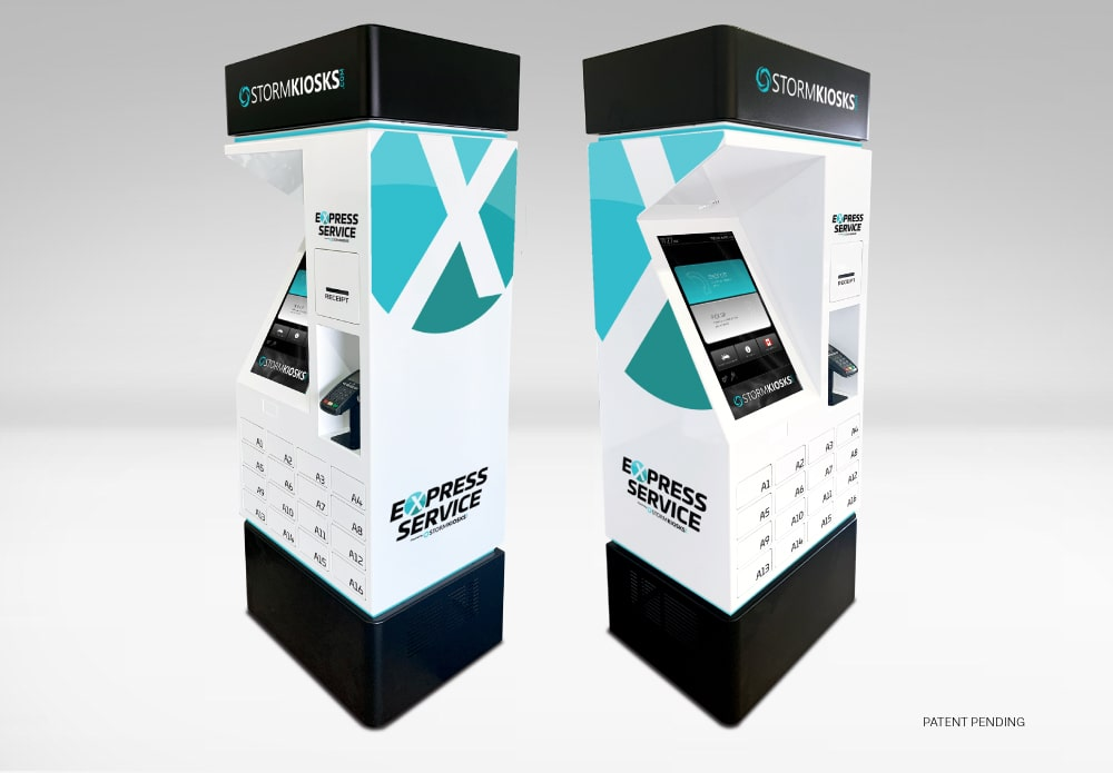 Express Service Kiosk  - No Contact Vehicle Servicing